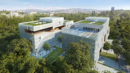 Harsch in charge of the development of the new IHEID's student residence at Kengo Kuma